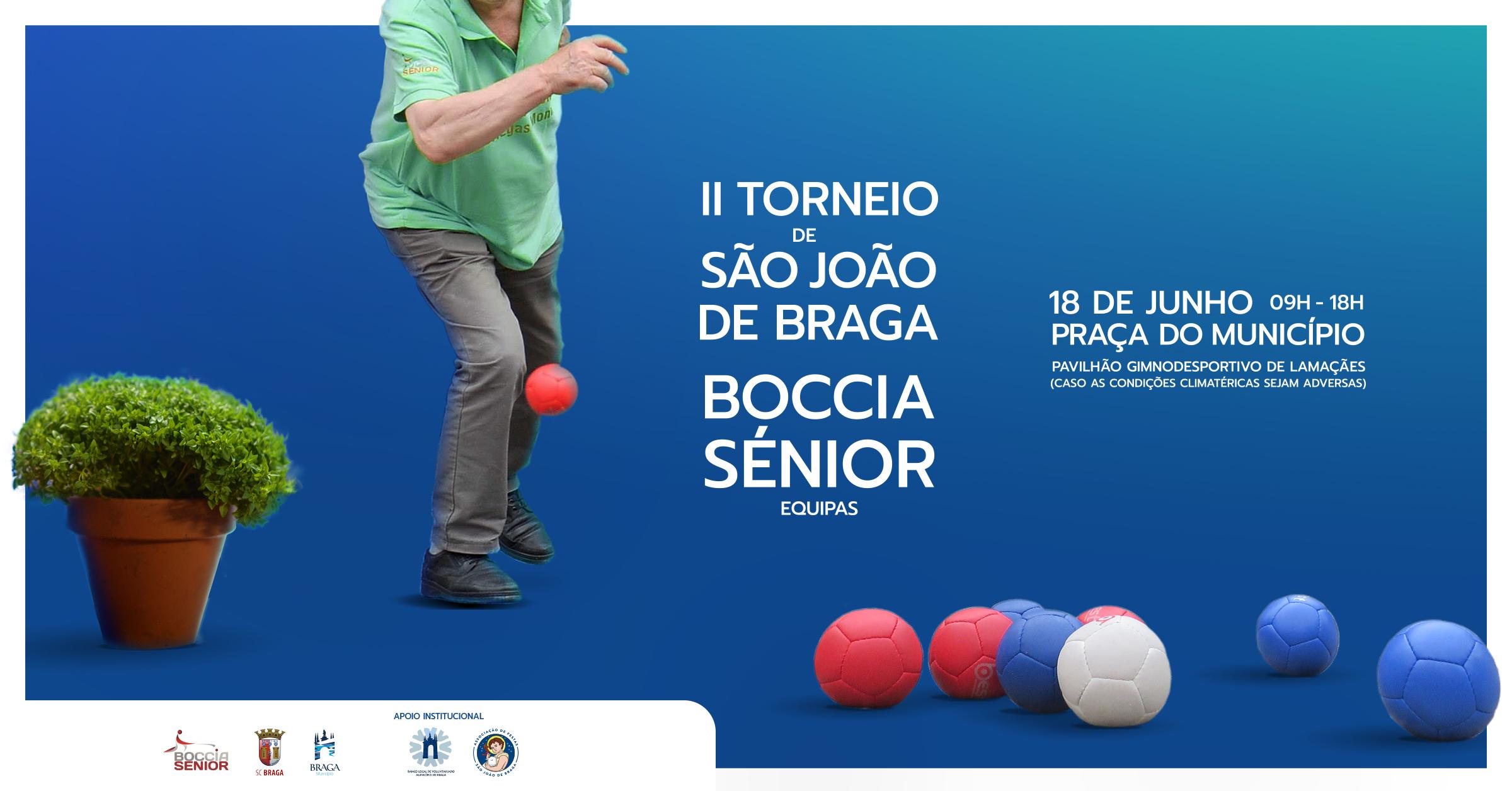 Torneio de São João de Braga Boccia Sénior