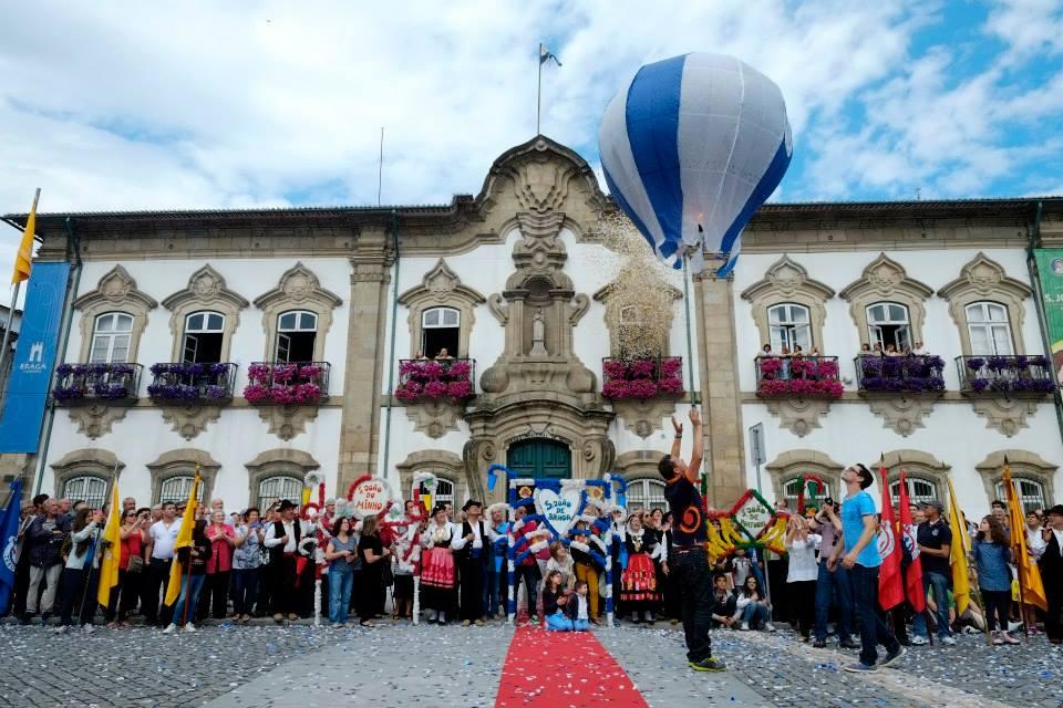 Abertura Oficial das Festas de São João de Braga