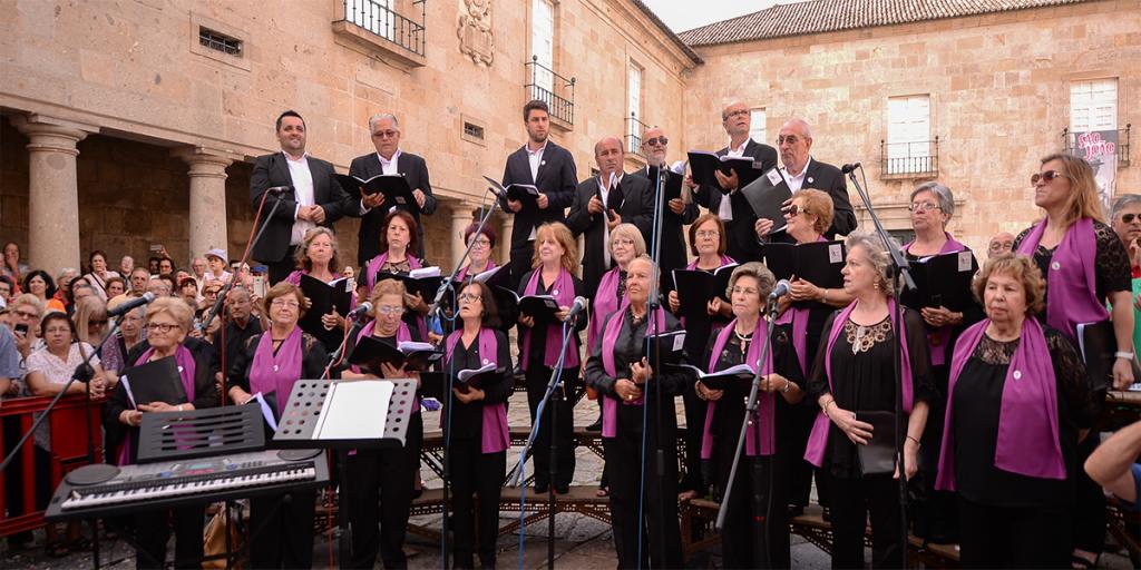 Concerto de música tradicional pelo Orfeão de Braga